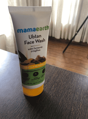 Product image for Mamaearth ubtan face wash review in hindi article