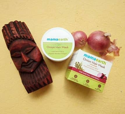 Product Image for article- Mamaearth Onion Hair Mask Review